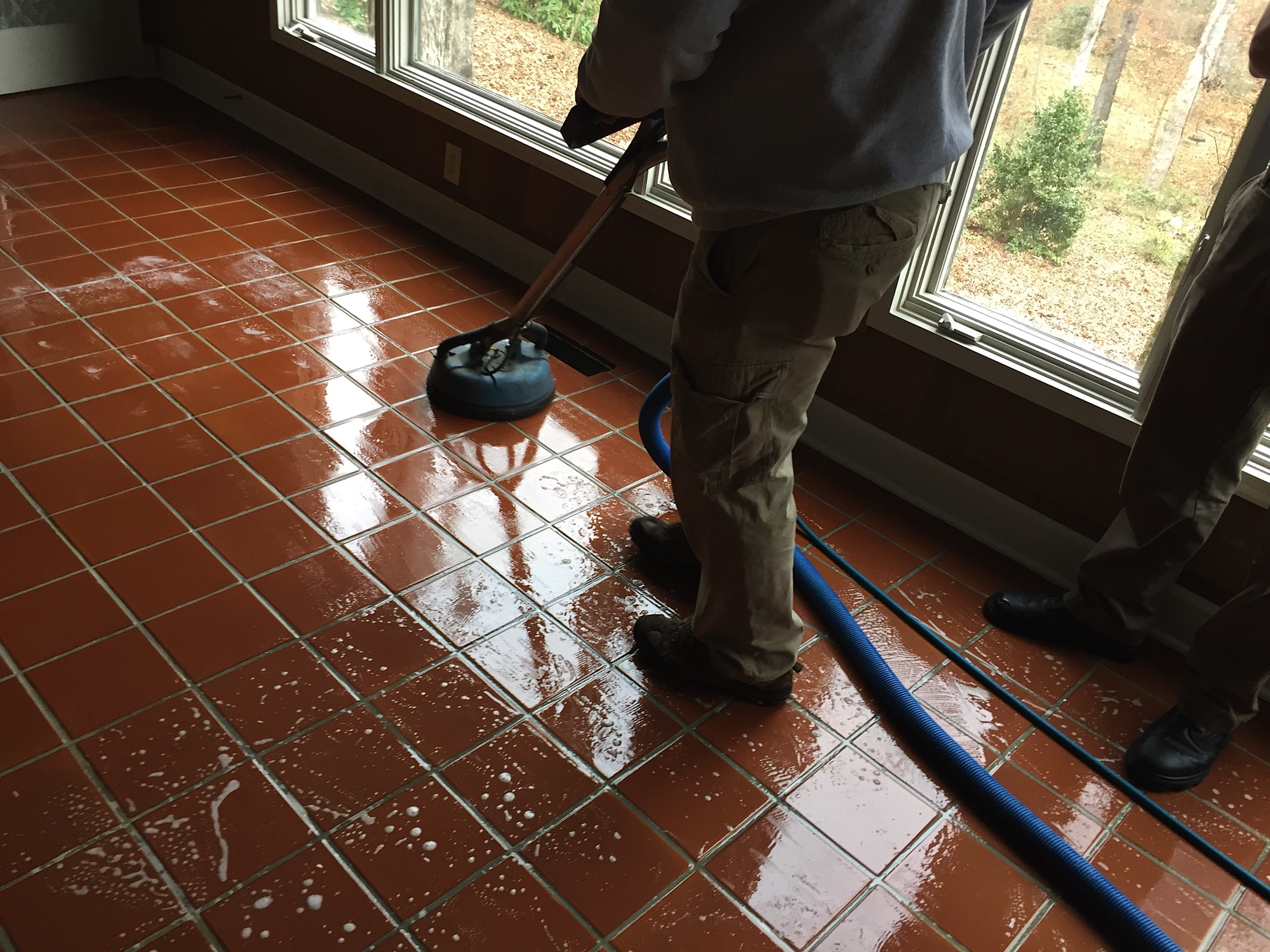 Tile and grout cleaners peaches n cleanpeachesn clean tile cleaning dailygadgetfo Image collections