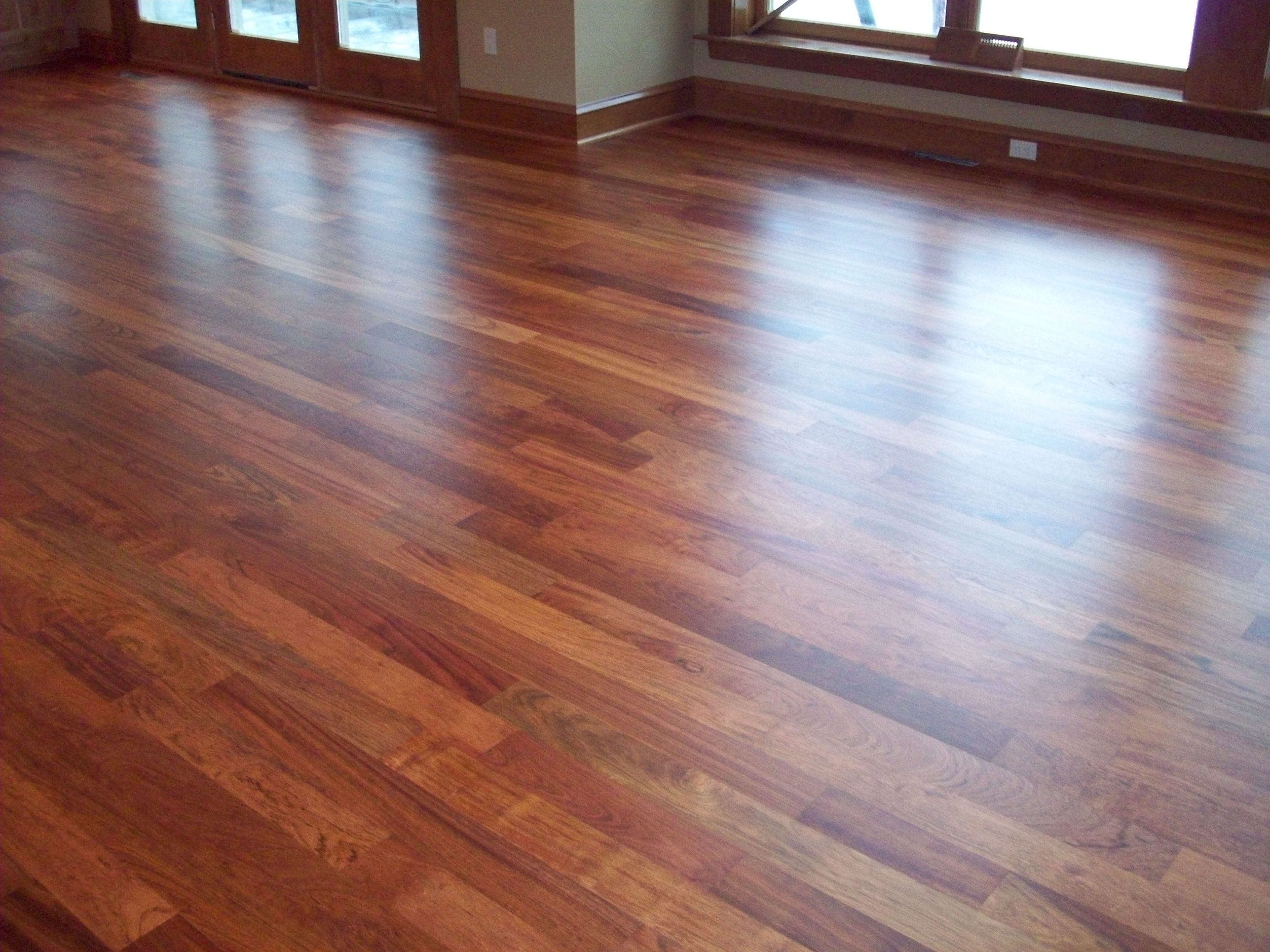 How to care for hardwood floorspeaches 39 n clean for Best wood for wood floors