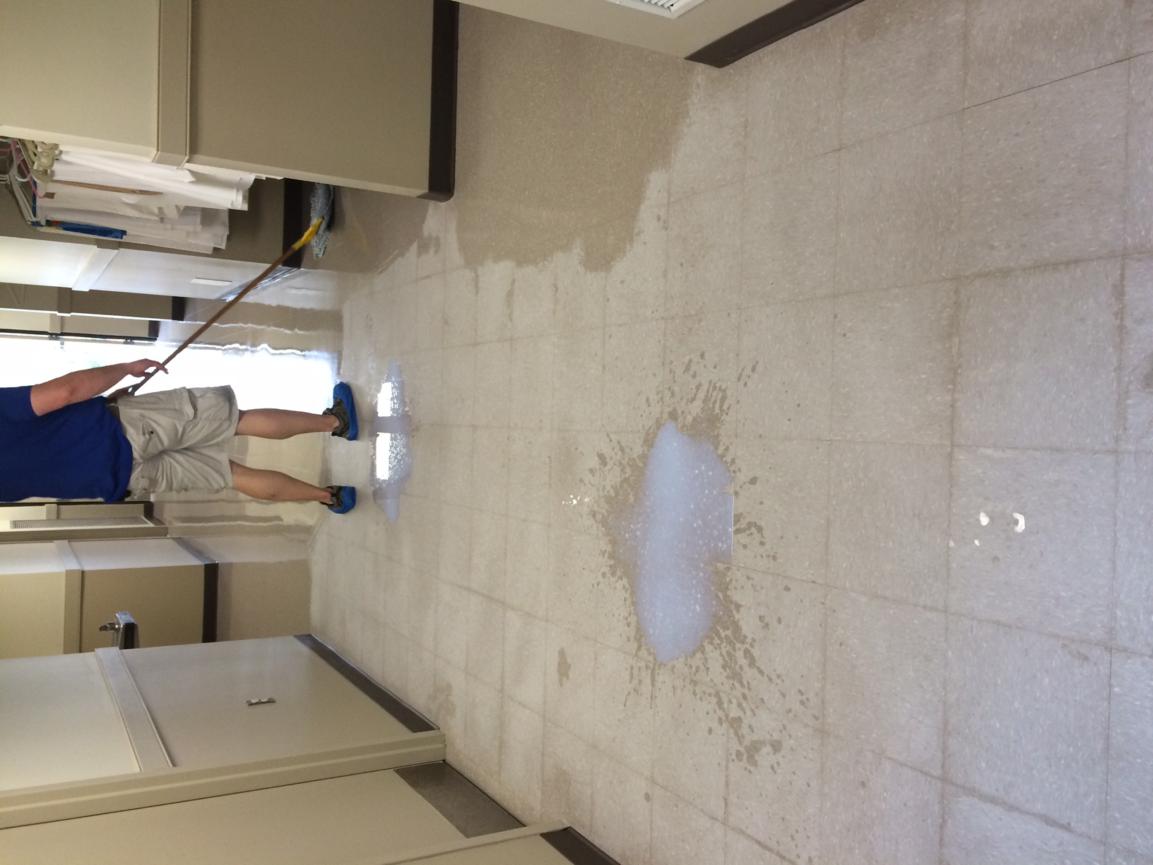 We Strip Wax Vct Tile Floors